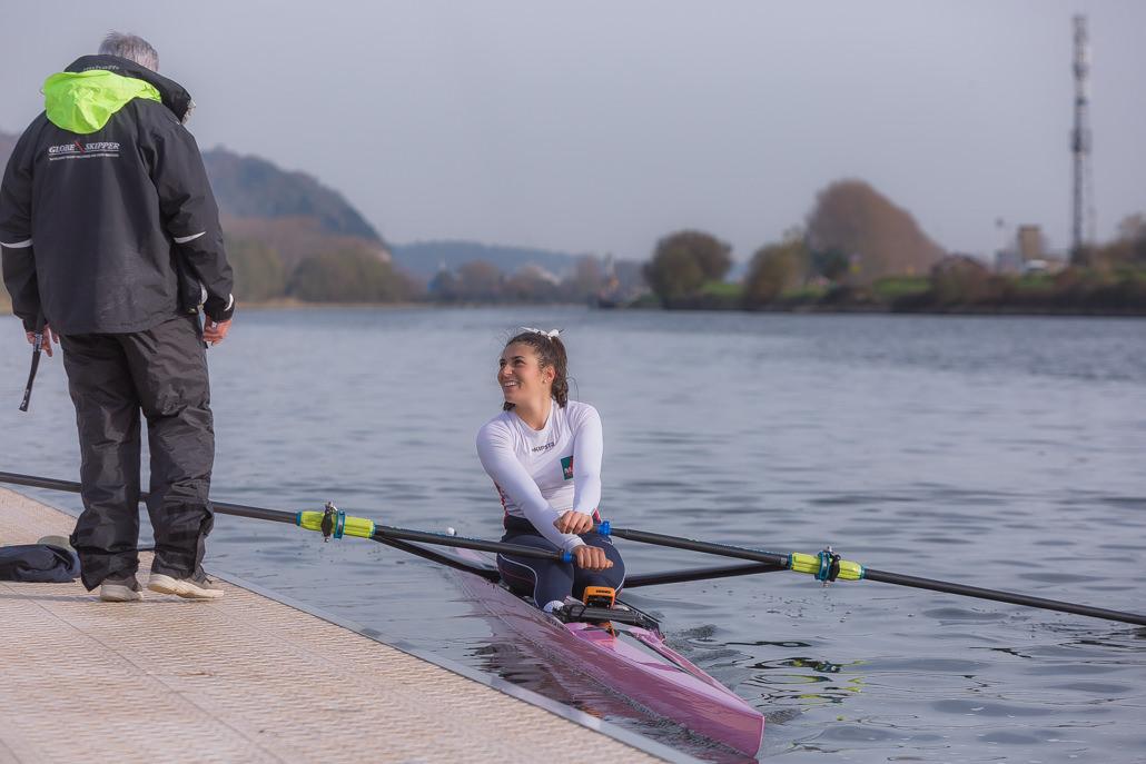 margaux bailleul championne d'aviron