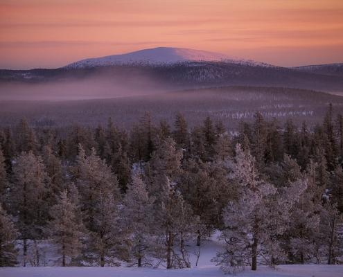 Tunturi en Laponie finlandaise