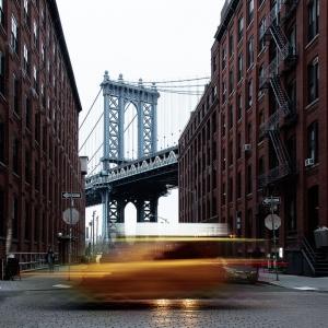 taxi new york pont de brooklyn